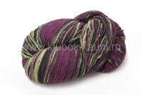 Wool Jazz Artistic Black-Purple-Green